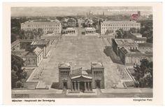 München - Hauptstadt der Bewegung - Königlicher Platz - Deutsche ...