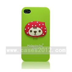 holapincho Series holapincho Series for iPhone 4/4S (Soft Case, Green) iPhone 4/4S Cases Soft Cases