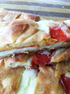 Low Carb Stromboli {THM-S, Gluten Free} - My Montana Kitchen