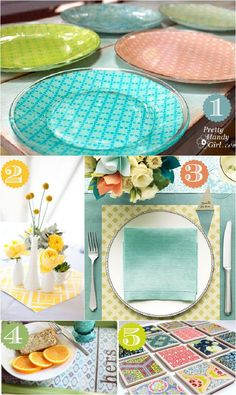 42 different ways to decorate using scrapbook paper!