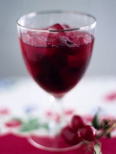 10 punches to serve at your next party: Zinfandel Cherry Punch