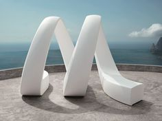 Sectional Garden Bench AND By VONDOM Design Fabio Novembre. Outdoor ...