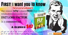 Fat Loss Factor Review ★★★ HOT HOT HOT ★★★ Free share ebook copy Fat Loss Factor, the best selling for weight loss. Maybe you not need it now, but your family and your friends will need it. Right now, click here download http://thefatlossfactorreview.tk/ Dont forget like me!