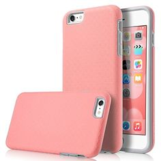 iPhone 6 Plus Case, ULAK SLICK ARMOR Slim-Protection Hybrid Dual Layer Shockproof Hard Case Cover for Apple iPhone 6s Plus and iPhone 6 Plus 5.5 Inch, Baby Pink/Grey ULAK http://www.amazon.com/dp/B011NUB18K/ref=cm_sw_r_pi_dp_OiCcwb14BFEE9