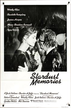 Directed by Woody Allen. With Woody Allen, Charlotte Rampling, Jessica Harper, Marie-Christine Barrault. While attending a retrospective of his work, a filmmaker recalls his life and his loves: the inspirations for his films. Charlotte Rampling, Annie Hall Quotes, Diane Keaton Woody Allen, Marie Christine Barrault, Woody Allen Quotes, Movies Quotes, Indie Movies, Film Quotes, Artists
