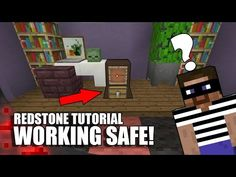 How To Build A Working Safe In Minecraft! - YouTube