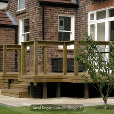 Garden Design project Heaton Moor, by David Keegan Garden Design Landscape Design, Garden Design, Outdoor Dining, Outdoor Decor, Decks, Design Projects, David, Home Decor, Blog