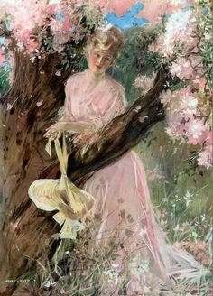 Blossom Tree Lady