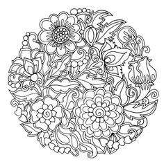 Colorfy Coloring Book Free Lovely Wallpaper Colorfy Coloring Pages Print Coloring Mandala Coloring Pages, Pattern Coloring Pages, Coloring Book Pages, Printable Coloring Pages, Coloring Sheets, Mandala Pattern, Art Plastique, Bunt, Stress