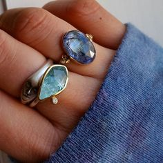 """athousandfacets: """"When your ring matches your sweater! Together with the lovely lady by and my margoni ring from Greek Jewelry, Fine Jewelry, Jewellery, Gem S, All You Need Is Love, Stacking Rings, Gemstone Rings, Stud Earrings, Gemstones"""