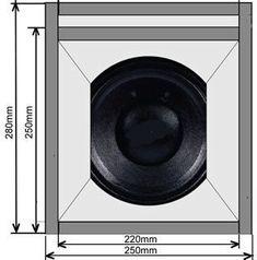 Subwoofer Box Design, Speaker Box Design, Speaker Plans, Speaker System, Horn Speakers, Built In Speakers, Woofer Speaker, Sound Speaker, Cabinet Plans