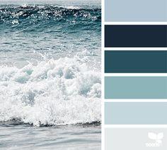 Design Seeds + Color Atlas by Archroma® Design Seeds, Colour Pallette, Colour Schemes, Beach Color Schemes, Room Colors, House Colors, Decoration Palette, Colours That Go Together, Deco Marine