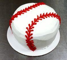 lets make this for Glenn! Baseball Birthday Party, Baby Boy 1st Birthday, 1st Birthday Parties, Birthday Ideas, Theme Parties, 8th Birthday, Birthday Cakes, Sport Cakes, Cakes For Boys