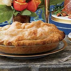 Use slightly firm pears and crisp, tart apples here to achieve the best texture in the filling, and let this mountainous pie cool and...