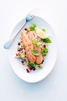 Couscous mit Lachs - smarter - Zeit: 20 Min. | eatsmarter.de