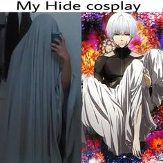 Tokyo Ghoul cosplay~ WHYYY!!? Why must u hurt me ;~;