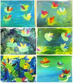 Monet Water Lilies Art for Kids | Flickr - Photo Sharing!