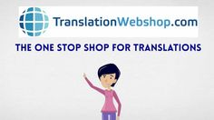 TranslationWebshop offers you the best way to get a translation. TranslationWebshop is quick, easy and reliable. There is no lengthy quotation or bidding process, but you do have immediate clarity about the price, quality and speed of delivery. Only professional translators are allowed, so you can be sure you will receive a high quality translation. That is how easy a professional translation is nowadays!  Post your translation job on www.translationwebshop.com now!
