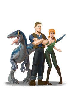 Jurassic World Claire, Blue Jurassic World, Jurassic World Fallen Kingdom, Jurassic Park Series, Jurassic Park 1993, Dinosaur Movie, Dinosaur Art, World Icon, Saga