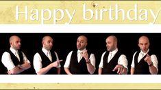 Happy birthday (* NSYNC) - A cappella - Geburtstag - Birthday&Gifts Happy Birthday Song Youtube, Birthday Songs Video, Funny Happy Birthday Song, Happy Birthday Video, Happy Birthday Candles, Happy Birthday Greetings, Birthday Quotes, Birthday Cards, Birthday Messages