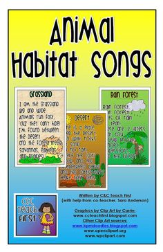 Activities about Habitats