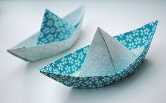 two fun boats to make and float!