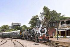 Rovos Rail from the Luxury Train Club - Locomotive