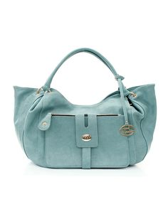 Soft Blue Mint Anna Satchel