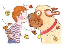 An early reader series about the irreplaceable bond between a boy and his dog.