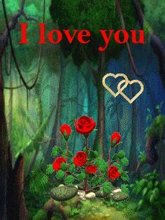 I Love You Animation.