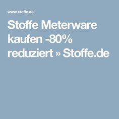 Stoffe Meterware kaufen -80% reduziert » Stoffe.de