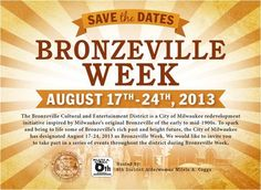 Be sure to discover BRONZEVILLE Mke style!