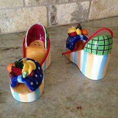 Carmen Platform Shoes Salt & Pepper Shakers by Vandor