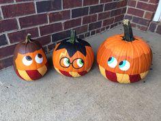 Harry Potter pumpkins for Halloween