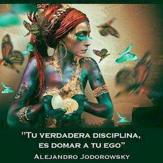 Tu verdadera disciplina, es dominar a tu ego