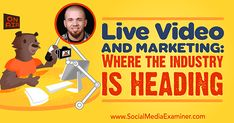 Live Video and Marketing: Where the Industry Is Heading  ||  Interested in using live video for business? Have you considered creating alive video show? To find outwhat live video can do for your business, I interview Brian Fanzo. More About This Show The Social Media Marketing podcast is an on-demand talk radio show from Social Media Examiner. It's designed to help busy marketers and…