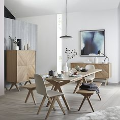 Buy Bethan Gray for John Lewis Newman 8-10 Seater Extending Dining Table Online at johnlewis.com