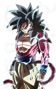 SSJ4 Goku by blackflim