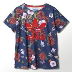 Camisetas Adidas Loose tee Rita Ora mujer