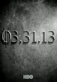 Game of Thrones Season 3 Promotional Poster