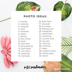 30-Day Summer Photo Challenge   Brit + Co. Shop   DIY Online classes, DIY kits and creative products from makers you'll love.