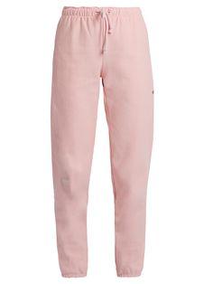 X Champion cotton-blend track pants | Vetements | MATCHESFASHION.COM US