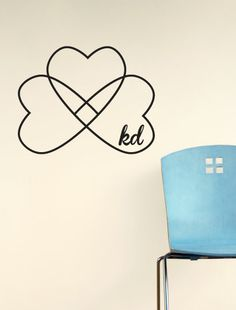 Kappa Delta Clover Decal - perfect for a Kappa Delta Live-out! http://www.dormify.com/greek/kappa-delta/kappa-delta-clover-decal