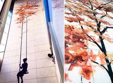 Spanish Artist Pejac Spreads Poetic Street Art Around European Cities