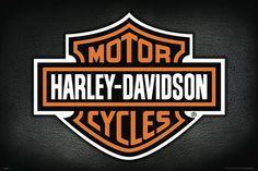 Harley-Davidson Motorcycles Official Logo Poster - available at www.sportsposterwarehouse.com
