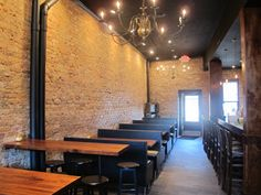 Mother MOTHER is a new Atlanta bar and restaurant located at 447 Edgewood Avenue in Old Fourth Ward. A joint effort between Beep Beep Gallery in ATL and The Woods bar in Brooklyn,NYC, MOTHER is a 3600 square foot three story historic brownstone.