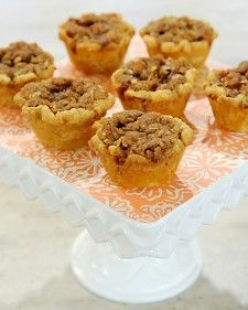 """In this recipe from Dani Cone's """"Cutie Pies,"""" mini pies baked in muffin tins provide perfectly portioned desserts for dinner guests."""