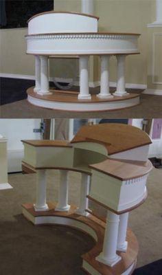 Custom Made Custom Church Pulpit