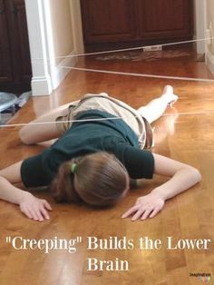 How Anxiety, Sensory Processing, Food Pickiness ALL Changed for My Kids (Developing the Lower and MidBrain! Proprioceptive Activities, Sensory Activities, Therapy Activities, Sensory Play, Visual Motor Activities, Sensory Tubs, Sensory Rooms, Movement Activities, Physical Activities