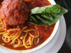 Happy National Meatball Day! + Where to Go For Spaghetti and Meatballs - Squid Ink